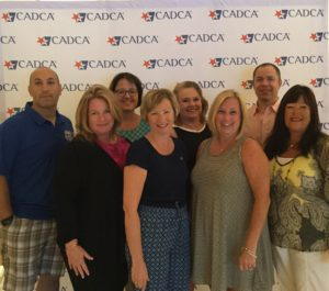 Members of the Rockville Centre Coalition for Youth, including Sector representatives from Police, RVC Youth Council, PTA, Lions Club and Chamber of Commerce at the CADCA mid-year training meeting.